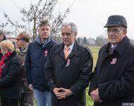 A Huszárlány szobránál emlékeztek a szabadságharc hétköznapi hőseire Szőregen | 2015-03-15