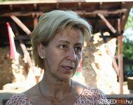 A szőregiek a romtemplomnál várták a deszkieket | 2011-09-03