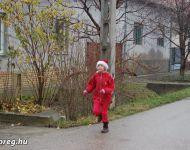Első Szőregi Mikulás Futás | 2014. december 6.  szombat
