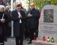 Földesi Tibor emlékmű avató | 2016. november 4.  péntek