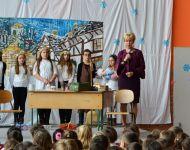 Karácsonyi műsor a Kossuth Lajos Általános Iskolábn