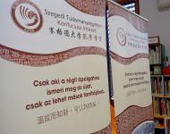 Kínai könyvsarok avatás
