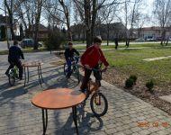 Közlekedésbiztonsági nap a szőregi iskolában | 2015-03-18