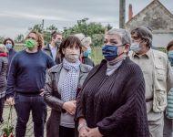 Makó Mária táblaavató | 2020. október 1.  csütörtök | Fotó: Iványi Aurél, szeged.hu