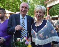 Rózsahölgyek a Szeged Napja Önnepségsorozat nyitónapján