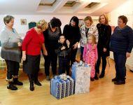 Rózsahölgyek Rendje karácsonyi adománya 2018