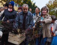 Rózsatőosztás Északi városrészben | 2019. október 29.  kedd | Fotó: Szabó Luca, szeged.hu