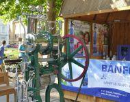 Solymászbemutató és kolbászillat a téren | 2015-08-06