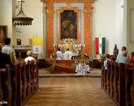 Szent István napi koszorúzás és kenyérszentelés 2016