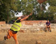 Rönkdobó versennyel várták Szőregen a deszkieket | 2012-09-02