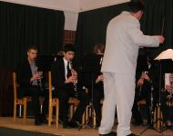 Szőregen lépett fel az Amadeus klarinétzenekar