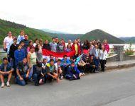 Szőregi iskolások felfedezésen Erdélyben