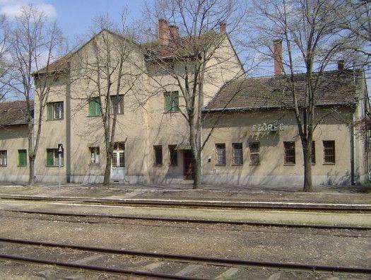 Szőregi vasútállomás