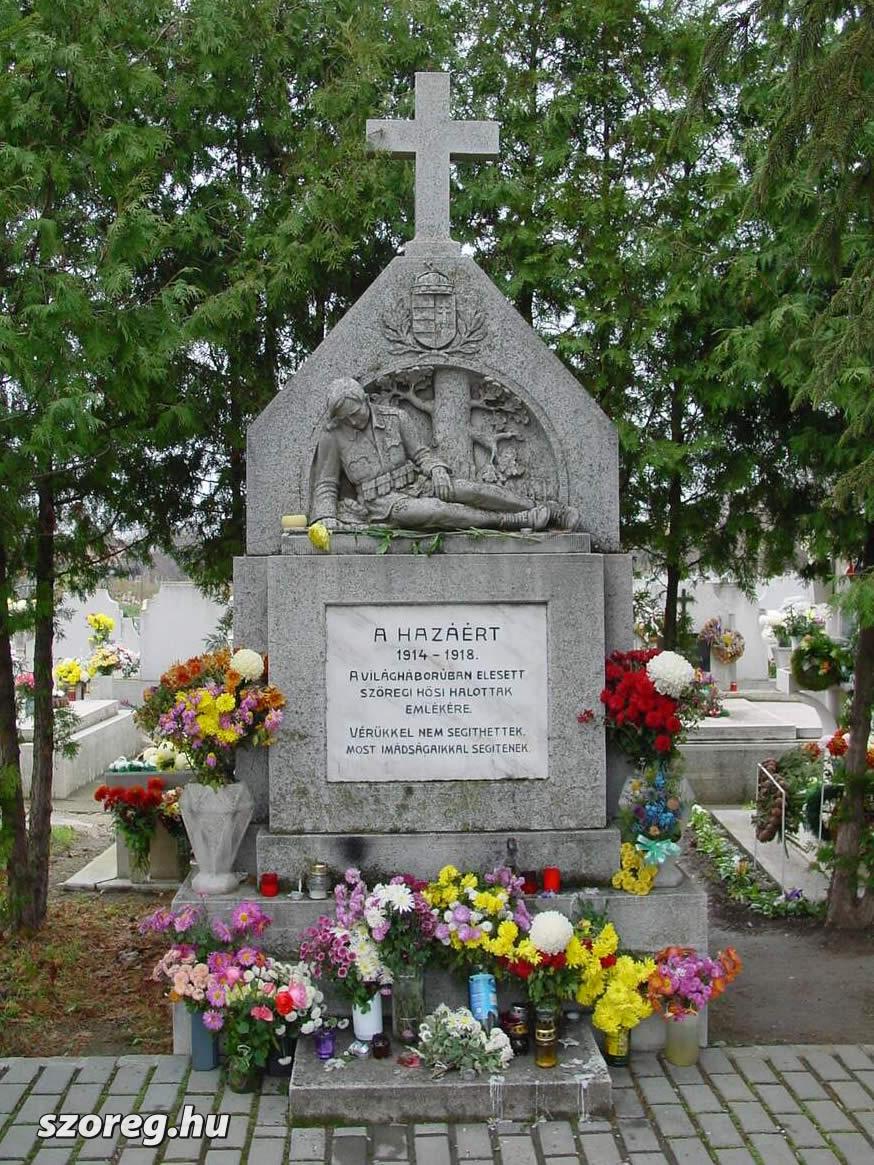 Az I. világháború hősi halottainak emlékkeresztje
