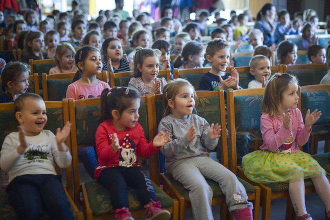A gyerekközönség a legjobb a világon