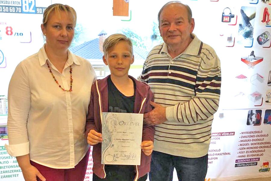 Szegedi család nyerte a megyei vagyonvédelmi vetélkedőt