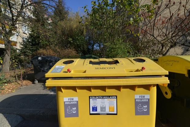 Ősztől már nem zsákokba, sárga edényzetbe gyűjthetjük a műanyagot