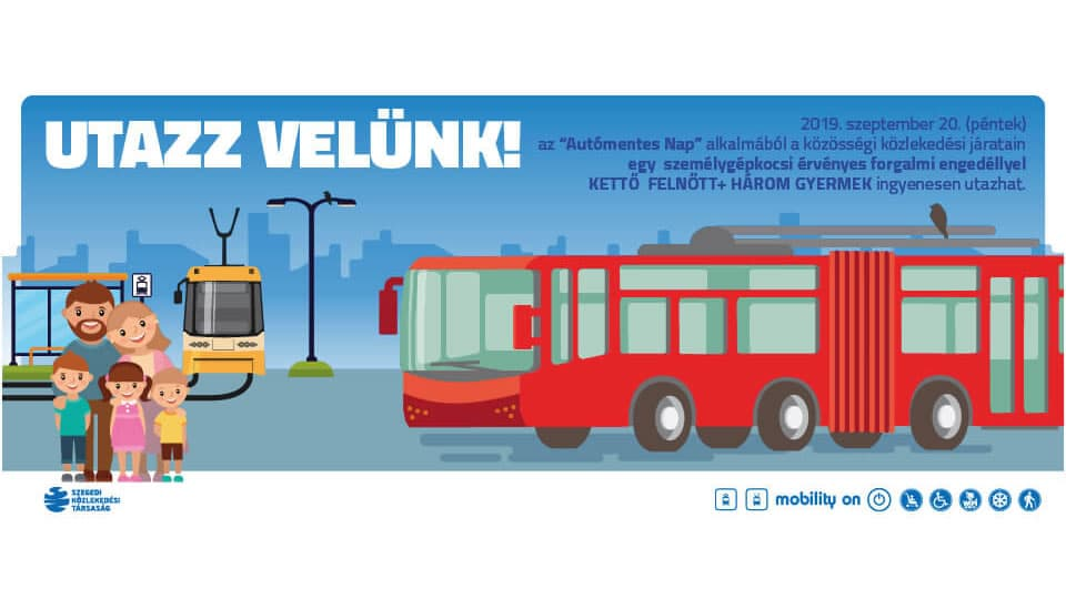 Újra lesz autómentes nap Szegeden