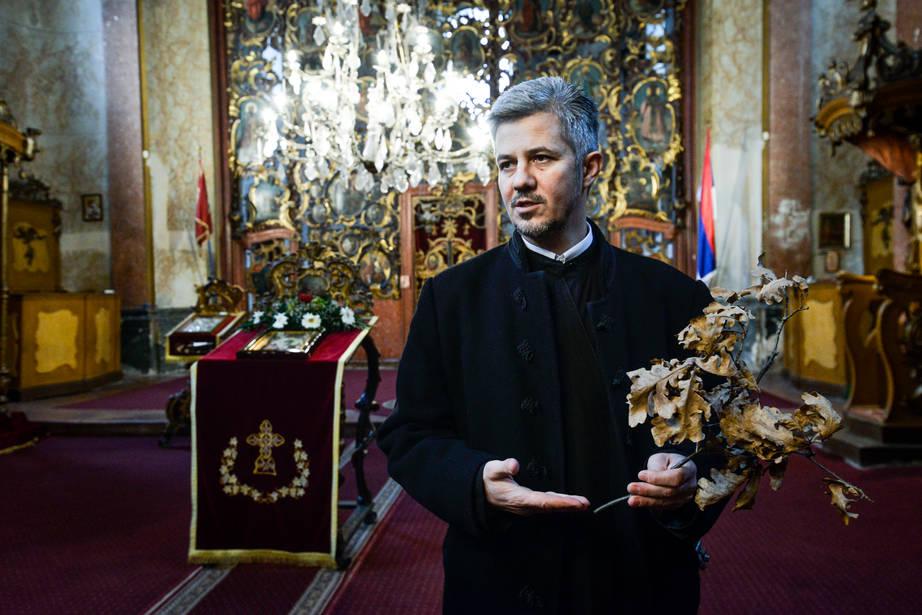 Két héttel később lépnek át a szerbek az új évbe
