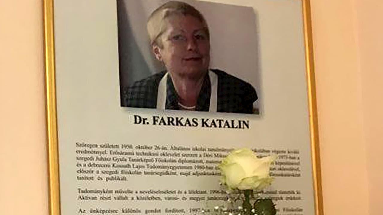 Farkas Katalinra emlékeztünk