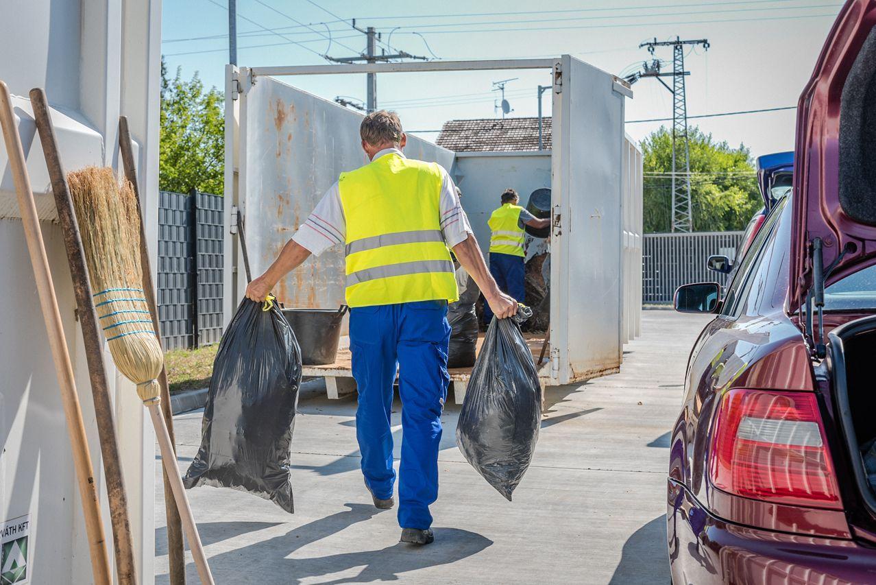 Szőregen megnyílt Szeged kilencedik hulladékudvara, az első a Tisza bal partján